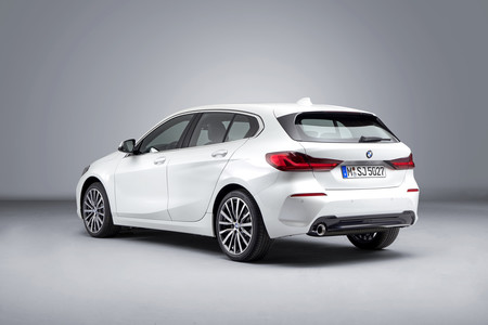 BMW Serie 1 2019 trasera lateral