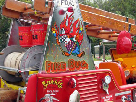 George Barris Fire Bug