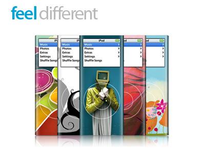 Originales skins para tu iPod