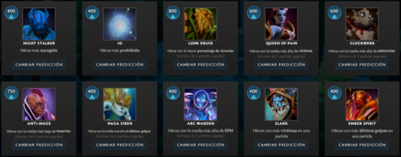 Prediccion Heroes