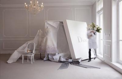 El vestido Couture de Miss Dior Blooming Bouquet