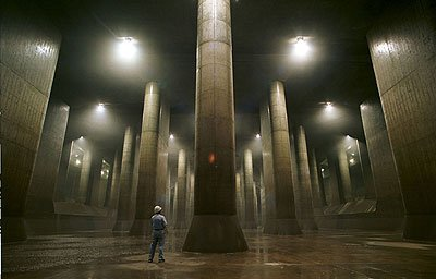 Zion, de Matrix, existe debajo de Tokio