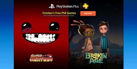 Broken Age y Super Meat Boy encabezan los juegos para PlayStation Plus en octubre