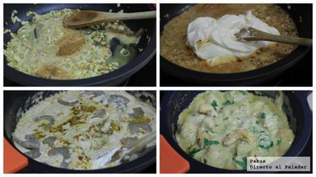 Curryde Langostinos Con Cacahuetes