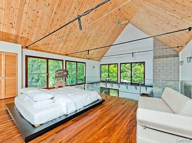 El dormitorio de Halle Berry