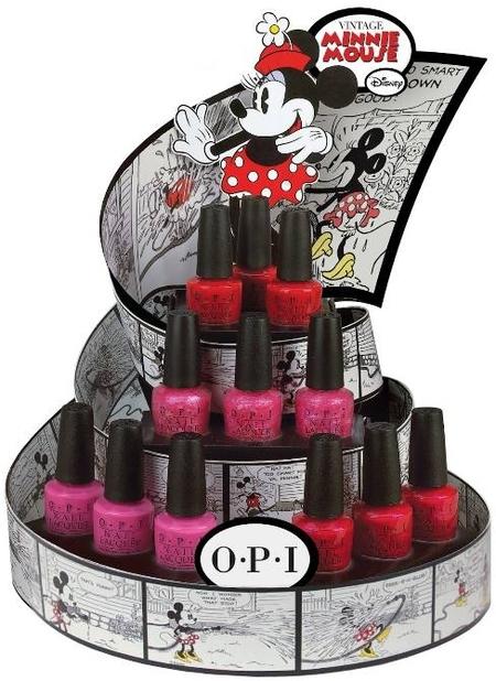 OPI lanza una colección inspirada en Minnie Mouse