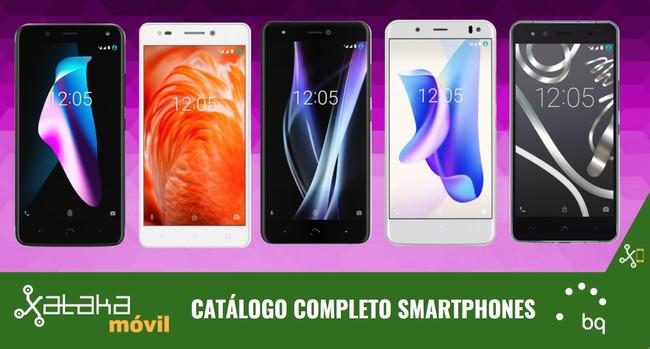 Catalogo Completo Smartphones Bq Aquaris Septiembre 2017