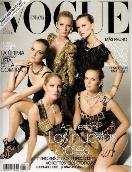 Vogue y su genial portada