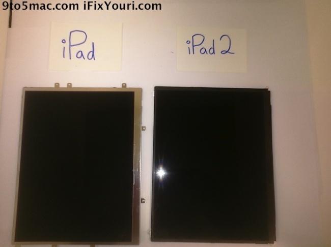 Pantalla del iPad 2