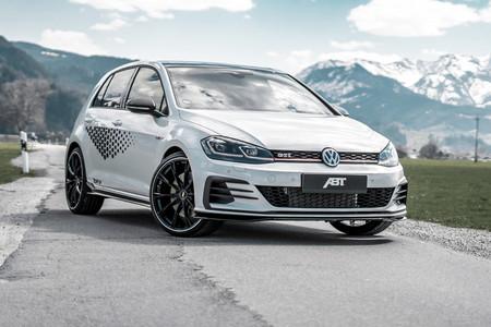El Volkswagen Golf GTI TCR exprime ahora 340 CV y 430 Nm de su motor 2.0 TSI, gracias a ABT Sportsline