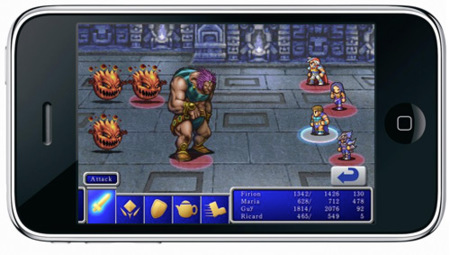 Final Fantasy y Final Fantasy 2 para iPhone podrían ver la luz
