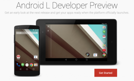 Google publica el SKD y las imágenes de fábrica de Android L Developer Preview