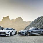 Mercedes-AMG GT Roadster y GT C Roadster, hasta 557 CV a cielo descubierto
