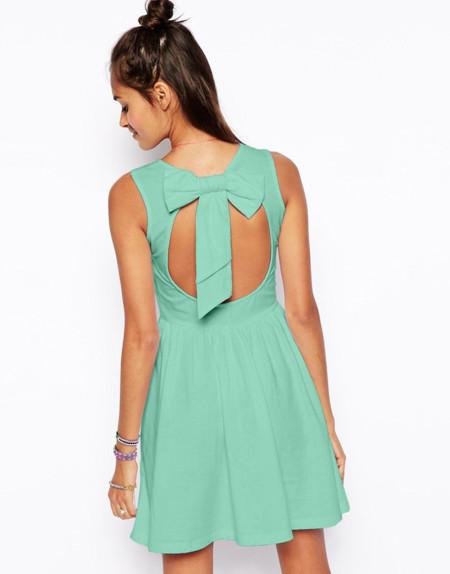 Asos Vestido verde