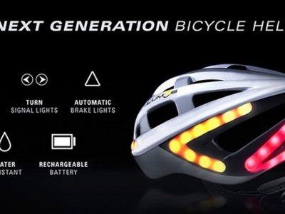 Lumos: Un casco para que te vean mejor al ir en bici