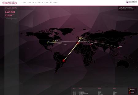 Checkpoint Mapa Ataques