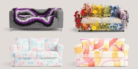 Los sofás de Ikea con los que rinden homenaje a todas las formas de amar y de ser del colectivo LGTBQI+ (y los memes que han generado)