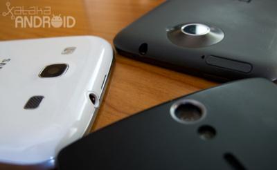 HTC One X vs Samsung Galaxy SIII vs Sony Xperia S, comparativa de las mejores cámaras Android
