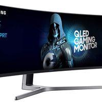 Amazon tiene hoy el interesante monitor gaming curvo y de 49 pulgadas Samsung C49HG90DMU rebajado a 799,99 euros