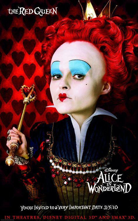 Foto de 'Alice in Wonderland' de Tim Burton, nuevos carteles (3/3)