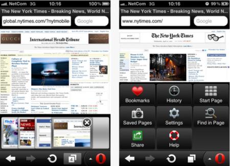 Opera Mini se renueva y llega al iPad