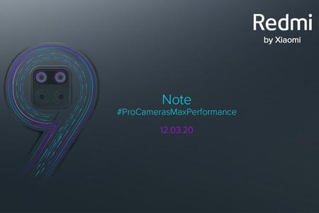 El Redmi Note 9 ya tiene fecha de presentación: el próximo candidato a móvil chollo llegará el 12 de marzo