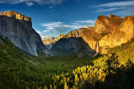 El trekking más famoso en Yosemite