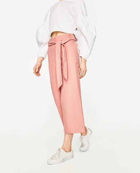 Pantalones crop
