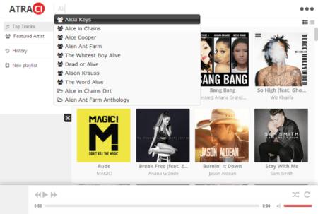 Atraci, 60 millones de canciones gratis, sin registro ni publicidad