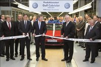 Empieza la producción del Volkswagen Golf Cabriolet