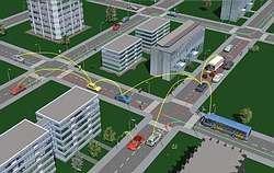 WILLWARN, redes mesh entre vehículos