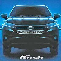 ¿Recuerdas al Toyota Rush? Su nueva generación ya circula por internet