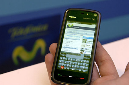 Nokia 5800 XpressMusic en el programa de puntos de Movistar
