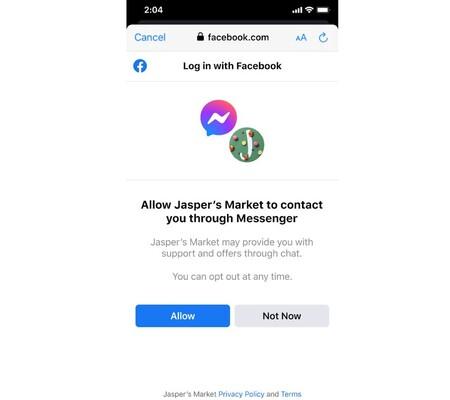 Facebook Login Connect
