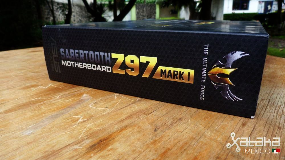 ASUS Sabertooth Z97 MARK 1: Empaque