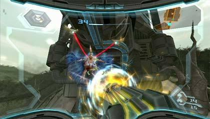 Metroid 3 - Partículas