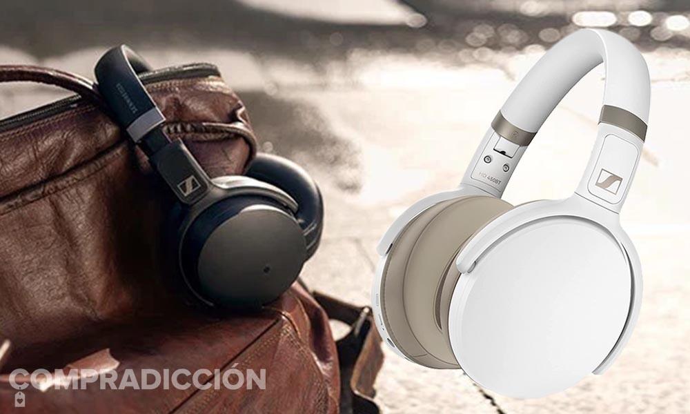 Chollazo: estos auriculares Sennheiser HD 450BT con cancelación de ruido sólo cuestan 99 euros con envío gratis en Amazon