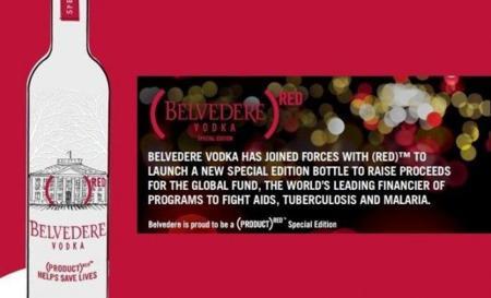 Edición limitada y solidaria de vodka Belvedere