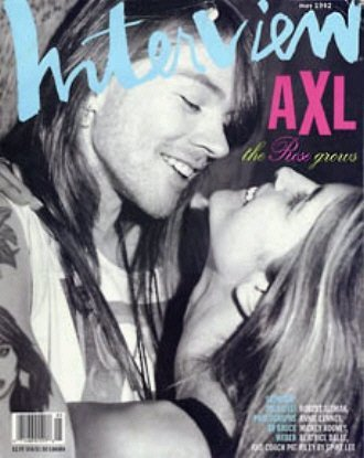 Axel Rose Stephanie Seymour