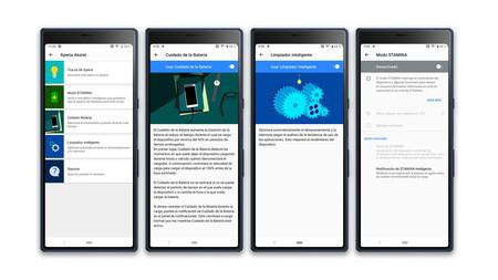 Sony Xperia 10 Plus Autonomia Herramientas