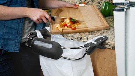 Accesorio para mantener la encimera limpia mientras cocinas