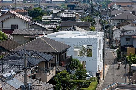 Casa totalmente abierta en Japón