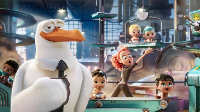 'Cigüeñas' ('Storks'), divertido tráiler de la nueva película de animación de Warner
