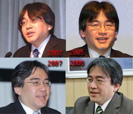 Él éxito de Nintendo envejece prematuramente a Iwata