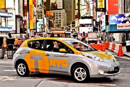 Nissan Leaf Taxi Nueva York