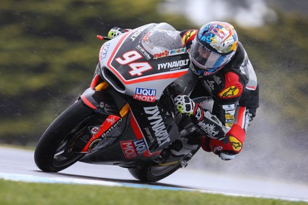 Jonas Folger Moto2 Phillip Island 2016 Fp1