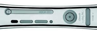 Carcasa de plata para la XBox 360