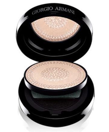 Giorgio Armani Black Lace Palette, polvos nacarados para puntos de luz del rostro