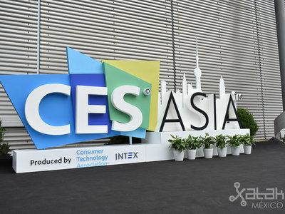 CES Asia, el evento tecnológico más importante del mundo llega a China y esto es lo que nos encontramos