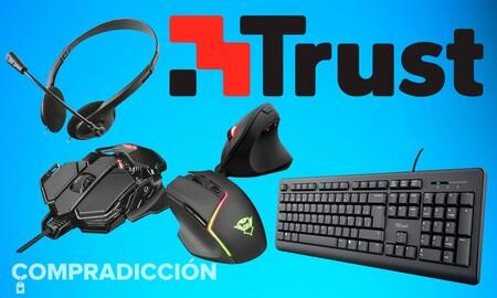 Auriculares, teclados y ratones a precios de risa: periféricos Trust rebajados esta semana en Amazon